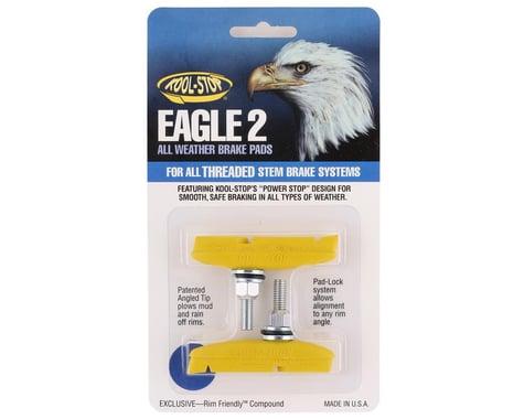 Kool Stop Eagle 2 Brake Pads (Yellow) (1 Pair)