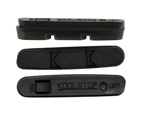 Kool Stop Super Record Brake Pad Inserts (Black) (1 Pair) (Black Compound)