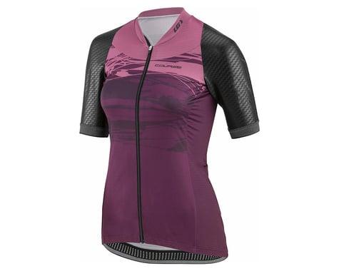 Louis Garneau Women's Stunner Jersey (Black/Shiraz) (XL)