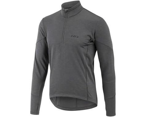 Louis Garneau Edge 2 Long Sleeve Jersey (Asphalt) (S)