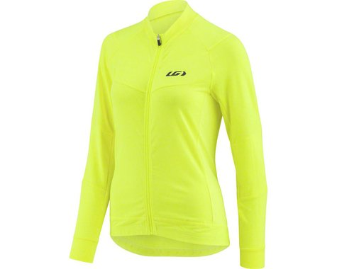 Louis Garneau Women's Beeze Long Sleeve Jersey (Bright Yellow) (L)