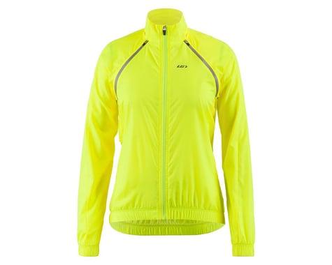 Louis Garneau Women's Modesto Switch Jacket (Bright Yellow) (2XL)