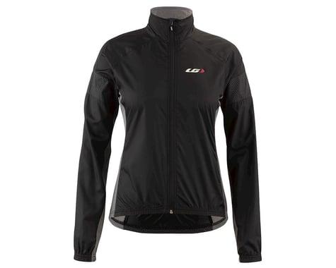 Louis Garneau Women's Modesto 3 Cycling Jacket (Black/Grey) (XL)