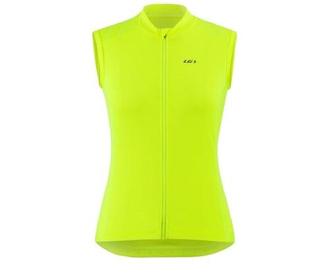 Louis Garneau Women's Beeze 3 Sleeveless Jersey (Bright Yellow) (S)