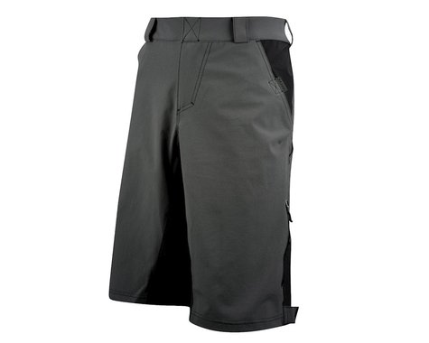 Louis Garneau Techfit Shell Baggy Shorts (Grey) (Xxlarge)