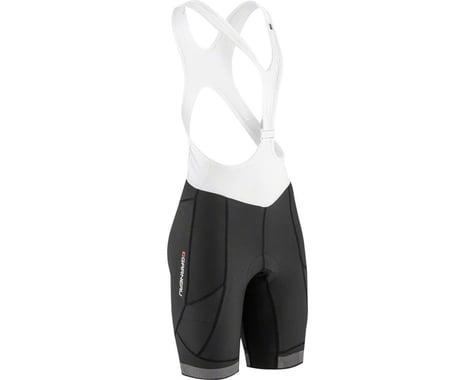 Louis Garneau Women's CB Neo Power Bib Shorts (Black/White) (2XL)