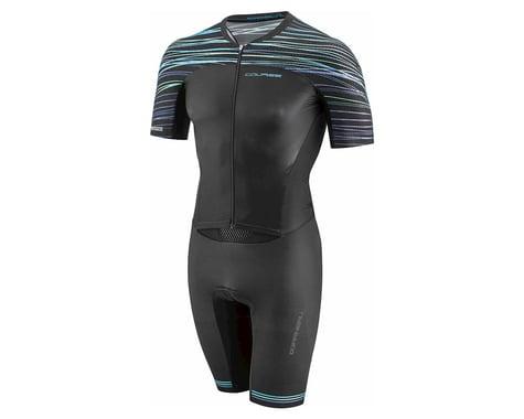 Louis Garneau Course LGneer Triathlon Skinsuit (Black/Blue/Green)