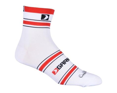 Louis Garneau Conti Socks (White/Red/Black)