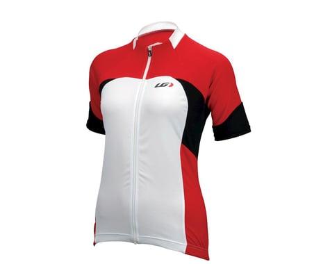 Louis Garneau Women's Metz Short Sleeve Jersey (Red) (Xsmall)