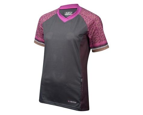 Louis Garneau Women's Sweep Short Sleeve Jersey (Matte Grey/Mint)