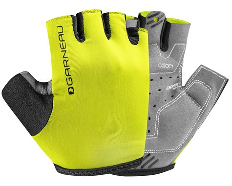 Louis Garneau JR Calory Youth Gloves (Bright Yellow) (Youth L)