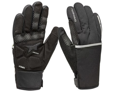 Louis Garneau Super Prestige 3 Gloves (Black/Yellow) (M)