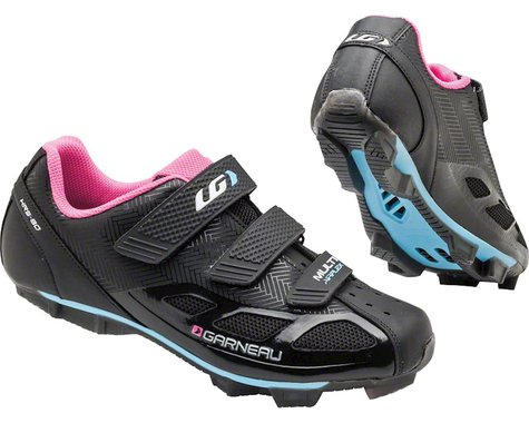 Louis Garneau Women's Multi Air Flex Shoes (Black/Pink)