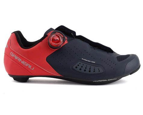 Louis Garneau Carbon LS-100 III Cycling Shoes (Red/Navy) (49)