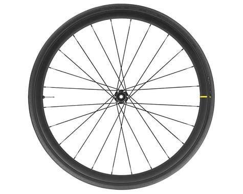 Mavic Cosmic Elite UST Disc Front Wheel (2020) (Black) (QR/12 x 100mm) (700c / 622 ISO)