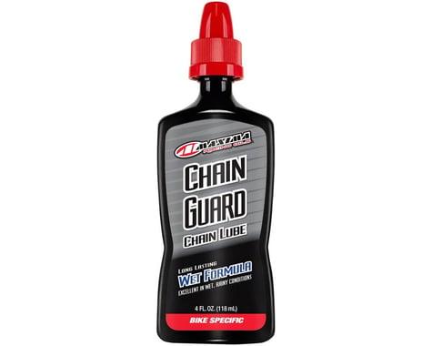 Maxima Bike Synthetic Chain Guard Wet Formula Lube (4oz)