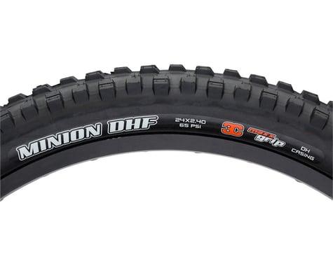 "Maxxis Minion DHF Trail Mountain Tire (Black) (2.4"") (24"" / 507 ISO)"