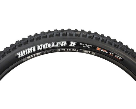 """Maxxis High Roller II Tubeless Mountain Tire (Black) (2.5"""") (27.5"""" / 584 ISO)"""