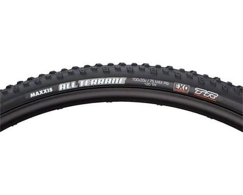 Maxxis All Terrane Tubeless Cross Tire (Black) (33mm) (700c / 622 ISO)