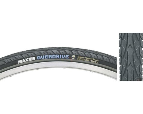 """Maxxis Overdrive City Tire (Black/Reflective) (1.65"""") (27.5"""" / 584 ISO)"""