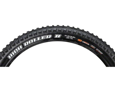 """Maxxis High Roller II Plus Tubeless Mountain Tire (Black) (2.8"""") (27.5"""" / 584 ISO)"""