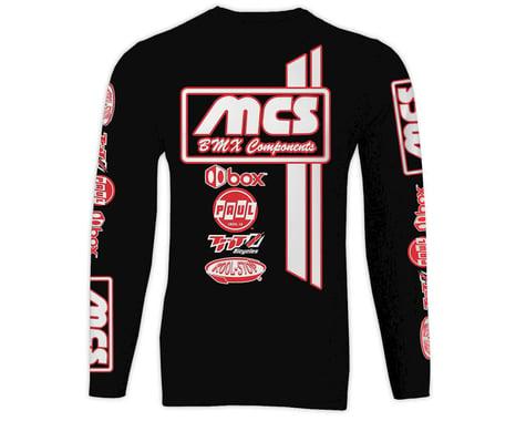MCS Long Sleeve Jersey (Black) (2XL)