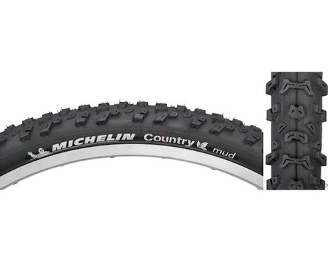 """Michelin Country Mud Mountain Tire (Black) (2.0"""") (26"""" / 559 ISO)"""
