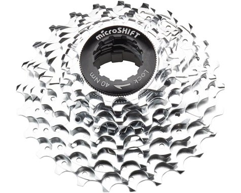 Microshift G10 Cassette (Silver/Chrome Plated) (10 Speed) (Shimano/SRAM) (11-25T)