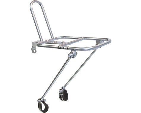 Nitto M18 Front Mount Bicycle Rack (Silver)