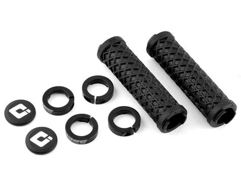 ODI Vans Flangless Lock-On Grips (Black/Black) (130mm) (Pair)