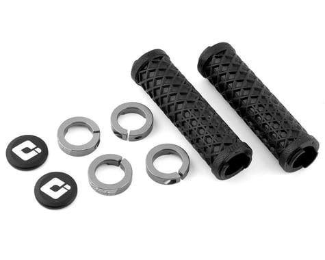 ODI Vans Flangless Lock-On Grips (Black/Grey) (130mm) (Pair)