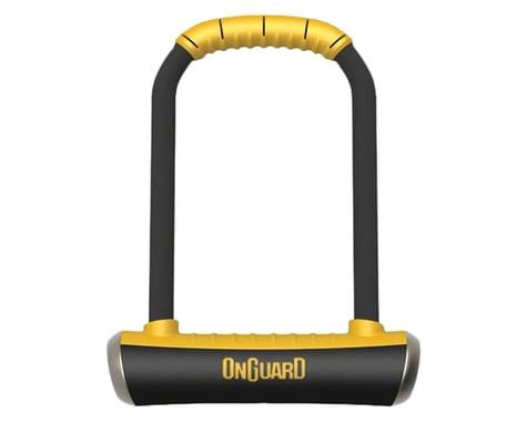 "Onguard PitBull U-Lock w/ Bracket (Black/Yellow) (4.5 x 9"")"