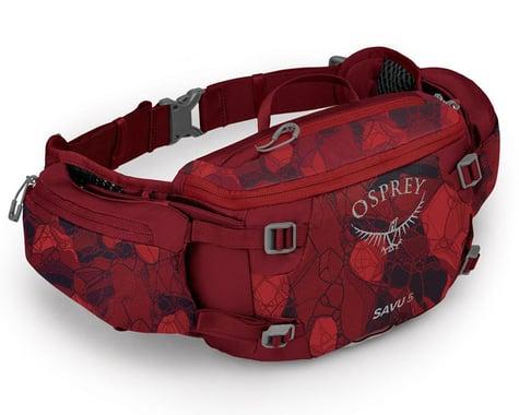 Osprey Savu 5 Lumbar Pack (Red)