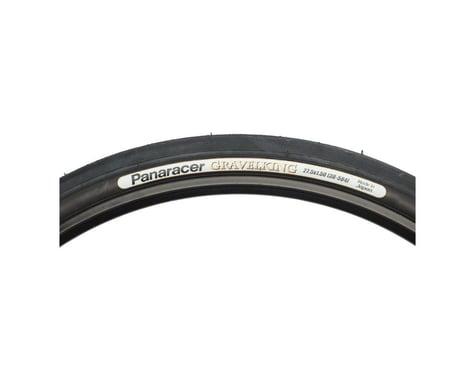 Panaracer Gravelking Slick Tubeless Gravel Tire (Black) (42mm) (650b / 584 ISO)