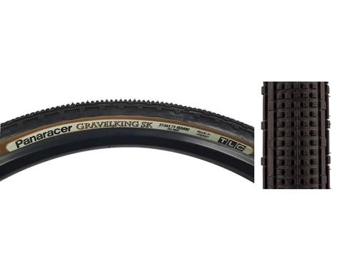 Panaracer Gravelking SK Tubeless Gravel Tire (Black/Brown) (43mm) (650b / 584 ISO)