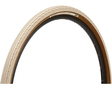 Panaracer Gravelking SK Tubeless Gravel Tire (Ivory White/Brown)