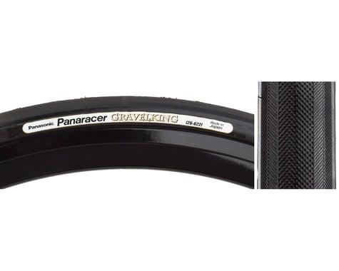 Panaracer Gravelking Slick Tubeless Gravel Tire (Black) (35mm) (700c / 622 ISO)