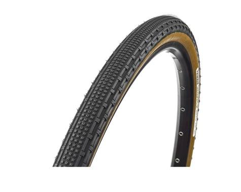 Panaracer Gravelking SK Tubeless Gravel Tire (Black/Brown) (35mm) (700c / 622 ISO)