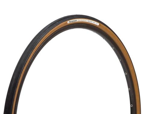 Panaracer Gravelking Slick Tubeless Gravel Tire (Black/Brown) (38mm) (700c / 622 ISO)
