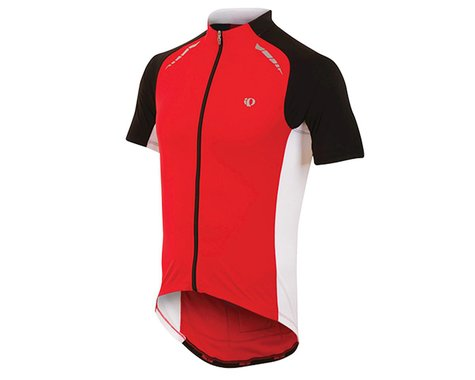 Pearl Izumi Elite Pursuit Cycling Jersey (True Red/White)