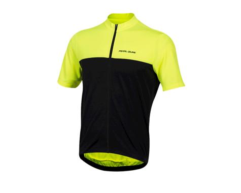 Pearl Izumi Quest Short Sleeve Jersey (Screaming Yellow/Black)