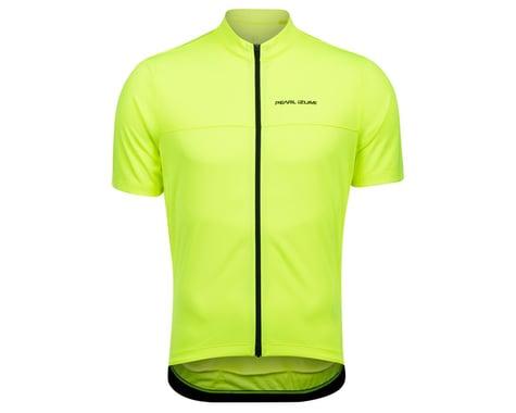 Pearl Izumi Quest Short Sleeve Jersey (Screaming Yellow/Phantom) (XL)