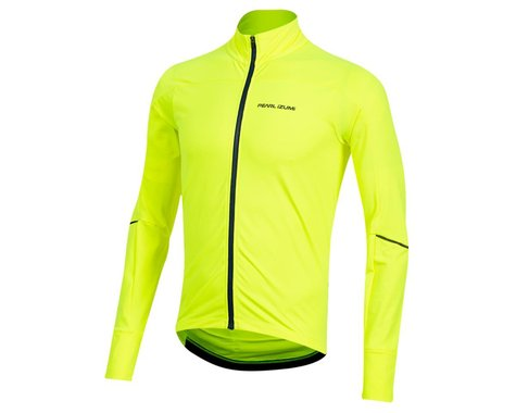 Pearl Izumi Men's Attack Thermal Long Sleeve Jersey (Screaming Yellow)