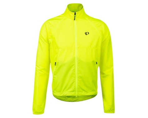 Pearl Izumi Quest Barrier Convertible Jacket (Screaming Yellow) (L)
