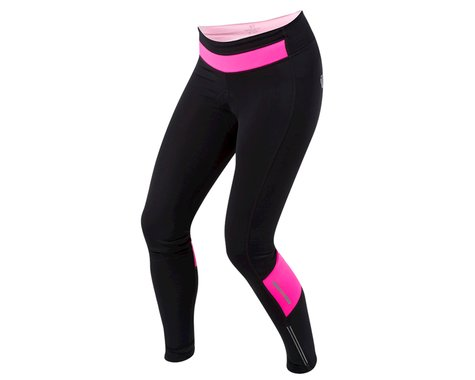 Pearl Izumi Women's Pursuit Cycle Thermal Tight (Black/Screaming Pink)
