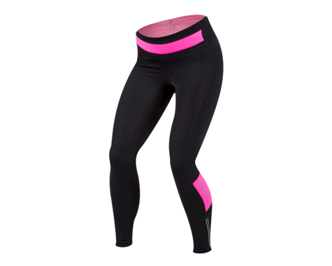 Pearl Izumi Women's Pursuit Thermal Tight (Black/Screaming Pink)