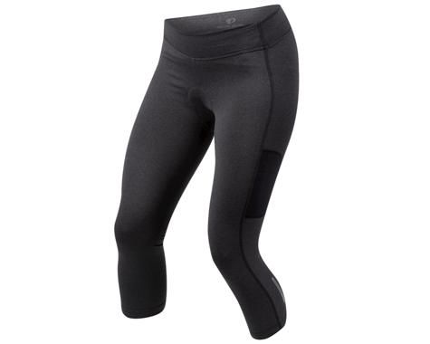 Pearl Izumi Women's Sugar Thermal Cycling 3/4 Tight (Black)