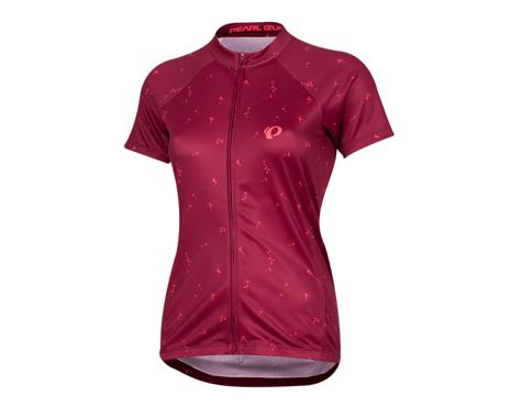 Pearl Izumi Women's Select Pursuit Short Sleeve Jersey (Beet Red Wish)