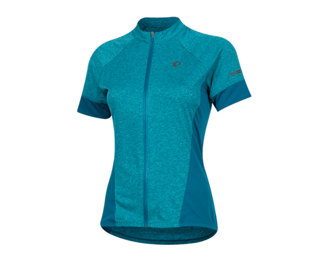 Pearl Izumi Women's Select Escape Short Sleeve Jersey (Teal/Breeze)