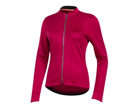 Pearl Izumi Women's PRO Merino Thermal Long Sleeve Jersey (Beet Red) (S)